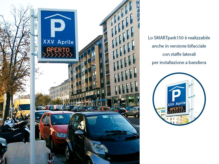 Sfhera Smartpark150 smart park parcheggio libero completo