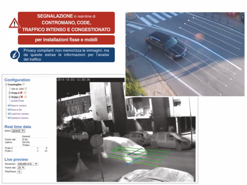 sensore code contatraffico